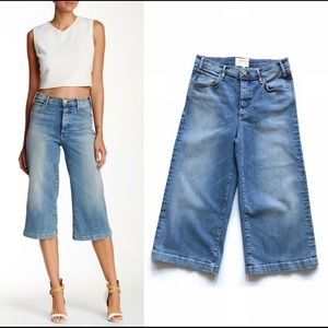 ♥️🌵MCGUIRE Bessette Wide Leg Cropped Jeans 28